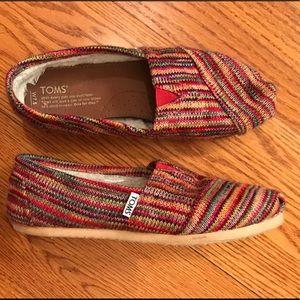 EUC Toms Colorful Slipper